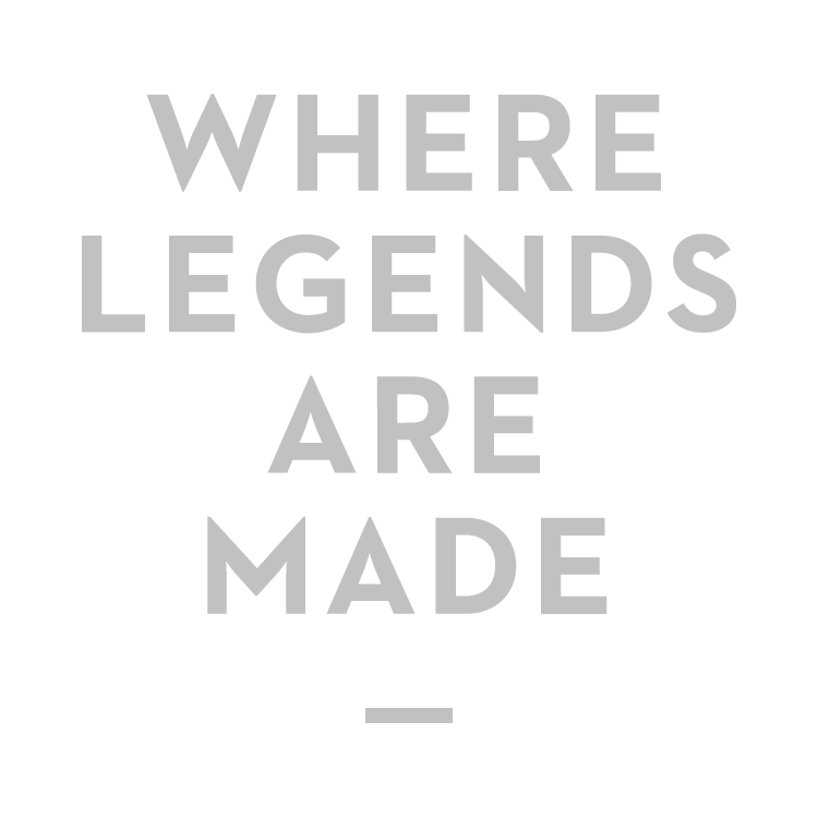Where Legends Are Made Logo